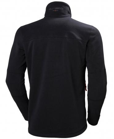 Bluza Helly Hansen Kensington Fleece, neagra, spate
