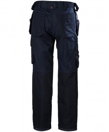 Pantaloni de lucru Helly Hansen Oxford Construction, bleumarin, spate