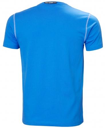 Tricou cu maneca scurta Helly Hansen Oxford, albastru, spate