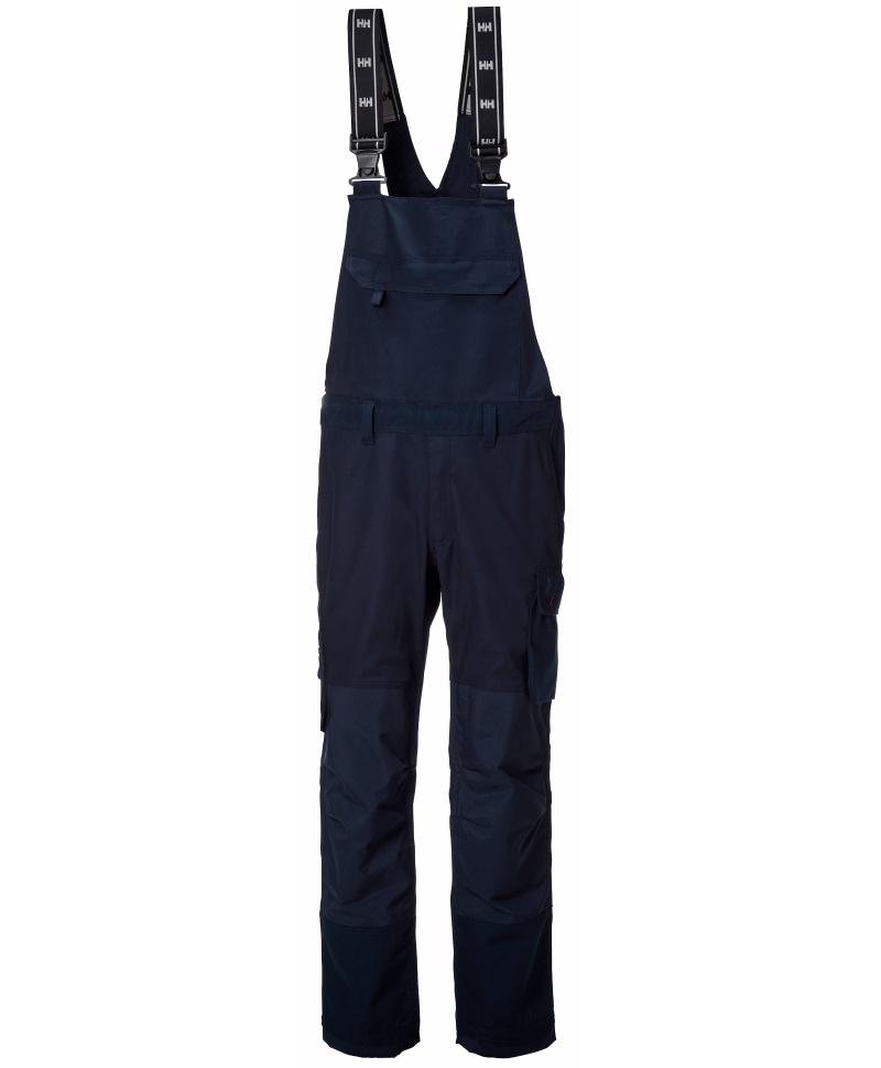 Pantaloni de lucru cu bretele Helly Hansen Oxford BIB, bleumarin, fata