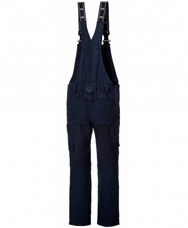 Pantaloni de lucru cu bretele Helly Hansen Oxford BIB, bleumarin, spate