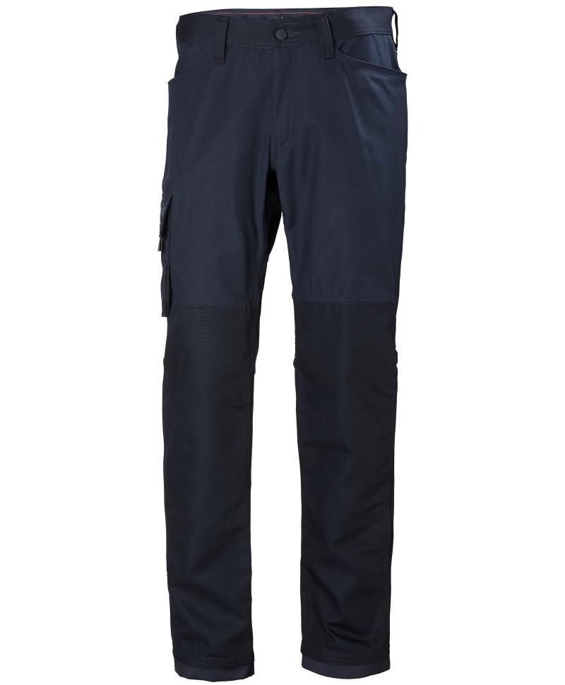 Pantaloni de lucru Helly Hansen Oxford Service, bleumarin, fata