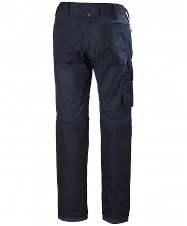 Pantaloni de lucru Helly Hansen Oxford Service, bleumarin, spate