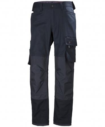 Pantaloni de lucru Helly Hansen Oxford Work, bleumarin, fata