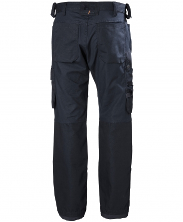 Pantaloni de lucru Helly Hansen Oxford Work, bleumarin, spate