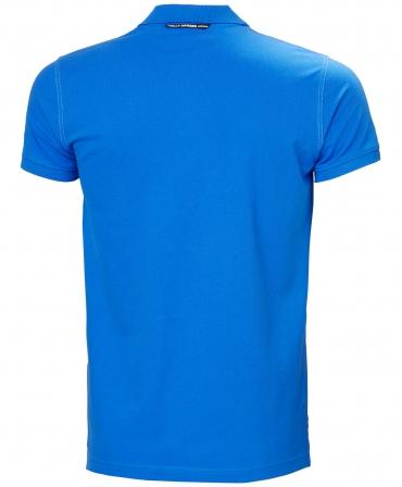 Tricou polo Helly Hansen Oxford, albastru, spate