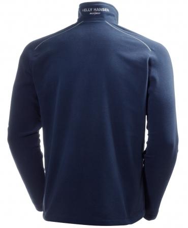 Bluza Helly Hansen Aker Fleece, albastra, spate