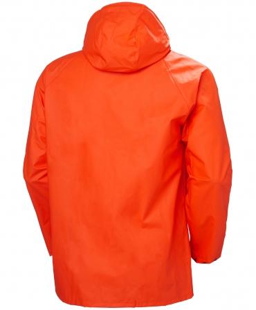 Jacheta Helly Hansen Mandal, impermeabila, portocalie, spate