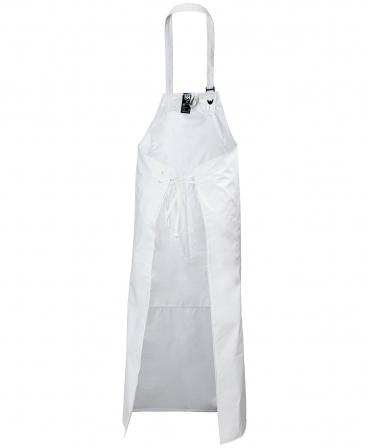 Sort protectie uleiuri Helly Hansen Bodoe, impermeabil, alb, spate