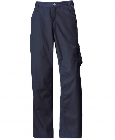 Pantaloni de lucru Helly Hansen Manchester Service, bleumarin, fata