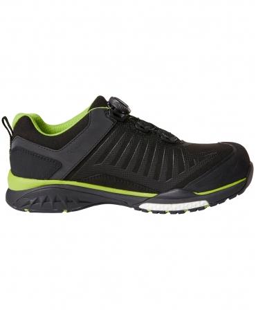 Pantofi protectie Helly Hansen Magni Low BOA, S3, negru/verde crud, din lateral