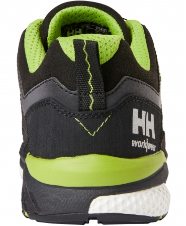 Pantofi protectie Helly Hansen Magni Low BOA, S3, negru/verde crud, din spate