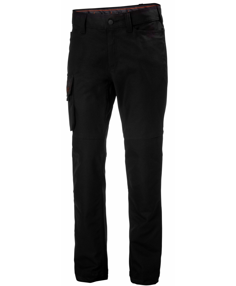 Pantaloni de lucru dama Helly Hansen Luna Service, negri, fata