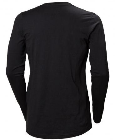 Bluza dama Helly Hansen Manchester Longsleeve, neagra, spate