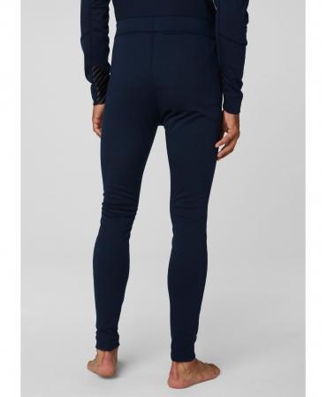 Pantaloni termo Helly Hansen Lifa Max, bleumarin, imbracati, spate