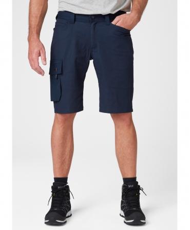 Pantaloni de lucru scurti Helly Hansen Oxford Service, bleumarin, imbracati, fata