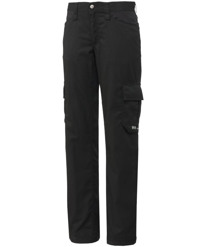 Pantaloni de lucru dama Helly Hansen Manchester Light Service, negri, fata