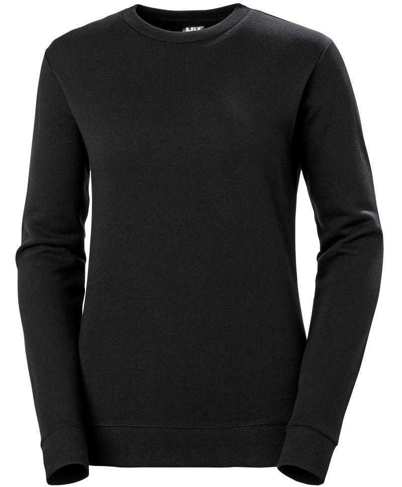 Bluza dama Helly Hansen Manchester, neagra, fata