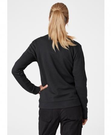 Bluza dama Helly Hansen Manchester, neagra, imbracata, spate