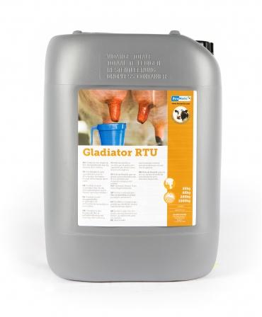 Dezinfectant de vascozitate mare Gladiator RTU pentru diparea mameloanelor dupa muls, Bidon 20 kg