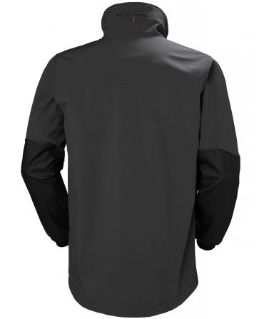 Hanorac Helly Hansen Storm Hybrid, impermeabil, negru, spate