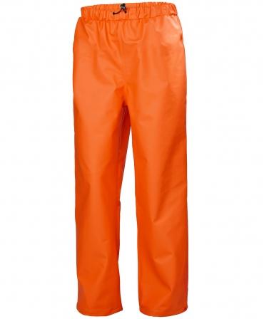 Pantaloni de lucru Helly Hansen Gale Rain, impermeabili, portocalii, fata