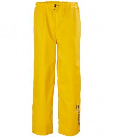 Pantaloni de lucru Helly Hansen Mandal, impermeabili, galbeni, fata