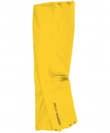 Pantaloni de lucru Helly Hansen Mandal, impermeabili, galbeni, profil