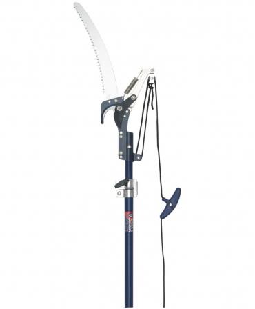 Fierastrau crengi cu lama otel carbon, maner telescopic, Spear & Jackson Razorsharp Advantage, fata