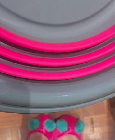 Galeata plastic pliabila 10 l cu maner plastic, Spear & Jackson Garden Tidy, detalii