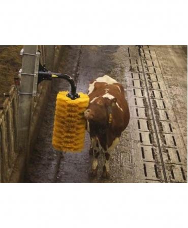 Perie scarpinat animale mecanica, oscilanta, EasySwing Maxi, Red Holstein