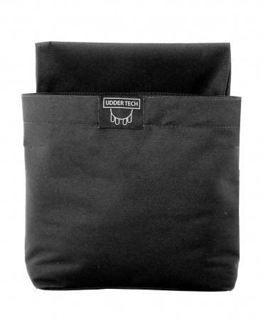 Buzunar extern Udder Tech, negru, L - Large - 30cm x 30cm x 14 cm - in care incap 50 de lavete