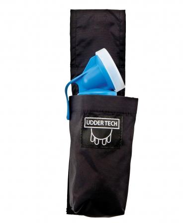 Toc pahar dipare Udder Tech, nailon - impermeabil, negru