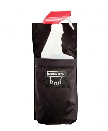 Toc flacon sprayere Udder Tech, nailon - impermeabil, negru