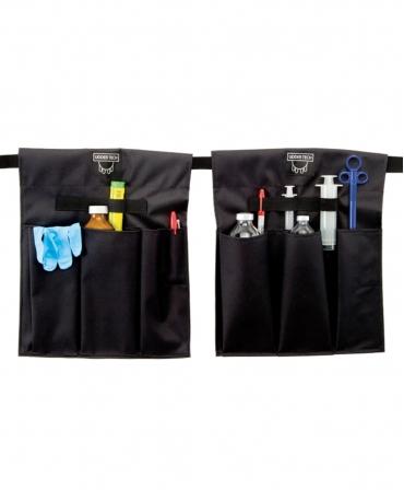 Buzunar extern acesorii medicale Udder Tech, poliester - rezistent la apa, negru