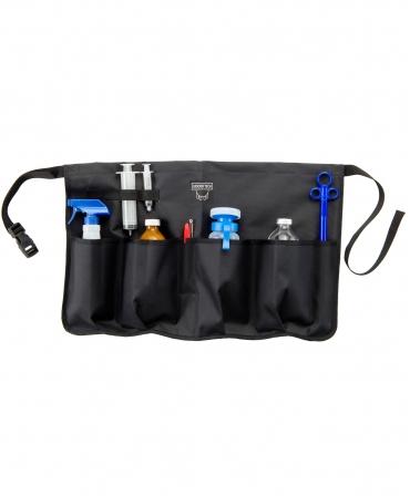 Sort cu buzunare accesorii medicale Udder Tech, poliester - rezistente la apa, negru