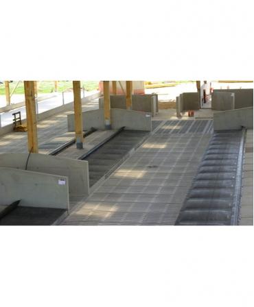 Saltea de odihna pentru vaci, pe pat de apa, AQUASTAR Ultimate cu Aqua Board, montaj