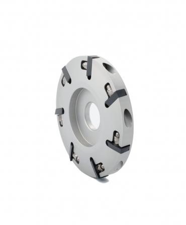 Disc trimaj ongloane 100 mm din aluminiu cu 7 lame, deschis, Demotec DL-Disc, profil