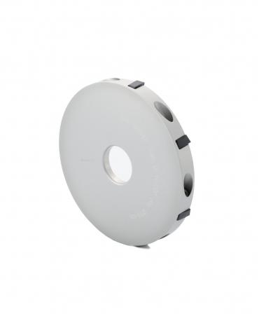 Disc trimaj ongloane 100 mm din aluminiu cu 7 lame, deschis, Demotec DL-Disc, spate