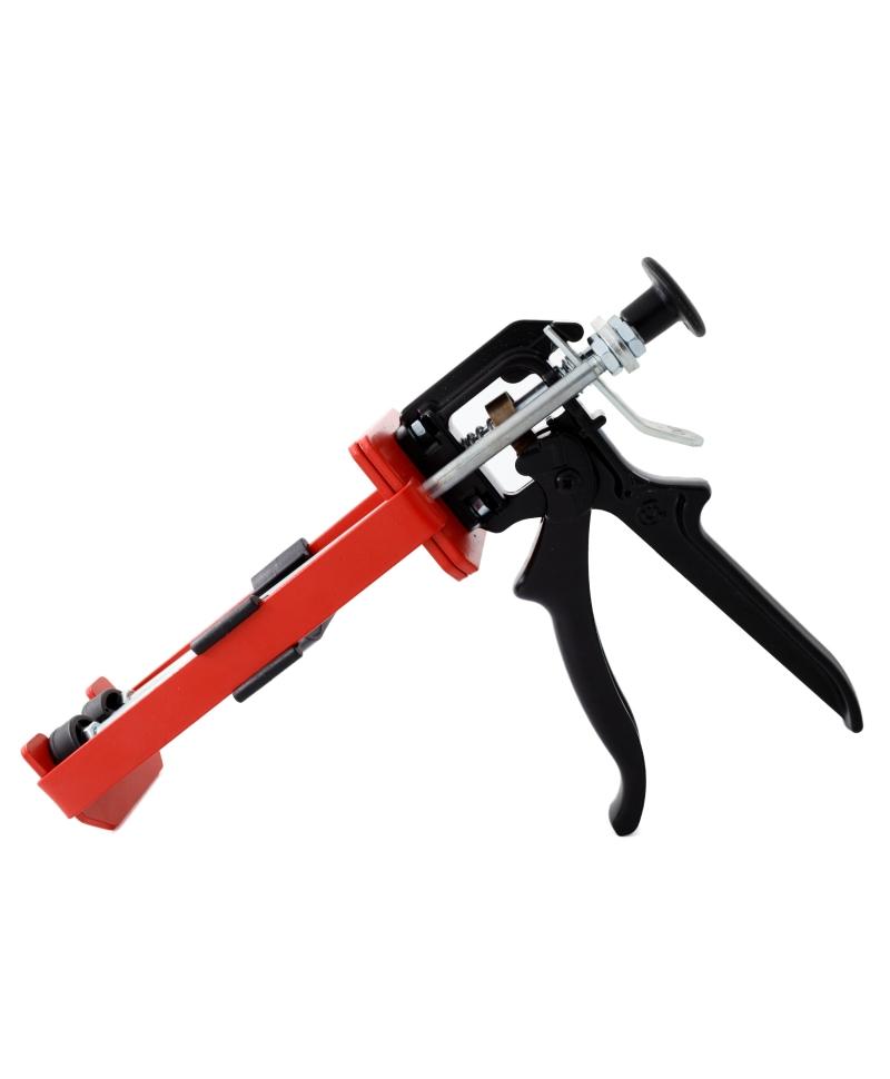 Pistol aplicare adeziv ongloane bicomponent Demotec Easy Bond II, pentru cartusul de 160 ml, produs