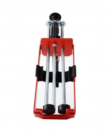 Pistol aplicare adeziv ongloane bicomponent Demotec Easy Bond II, pentru cartusul de 160 ml, fata