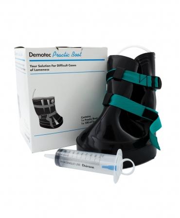 Cizma ongloane Demotec Practic, inclusiv seringa 100 ml, ambalaj