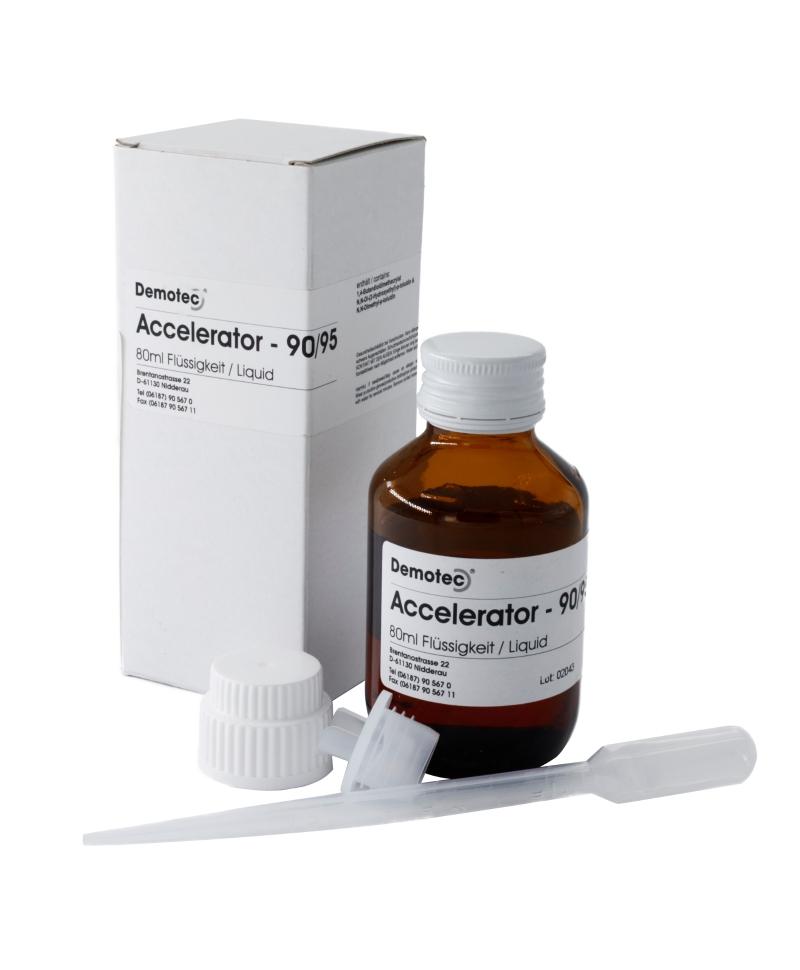 Accelerator lichid pentru kitul de tratament ongloane Demotec 95, 80 ml, produs