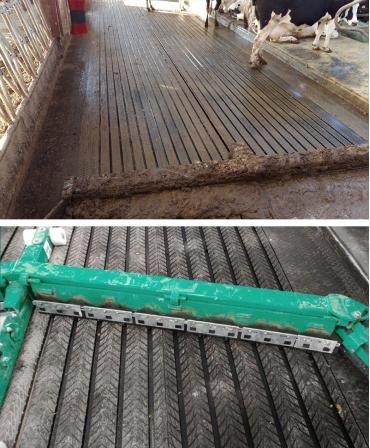 Covor de trafic din cauciuc, MAGELLAN GROOVE, cu canale de scurgere pentru lichide, 25mm grosime
