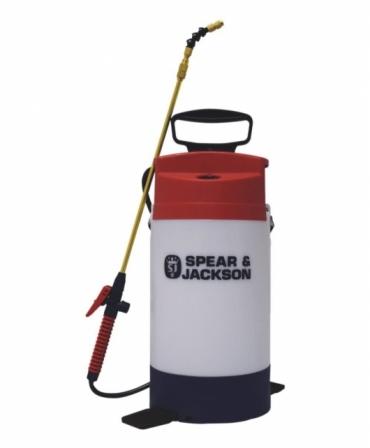 Atomizor 5 litri pentru lacuri pe baza de apa cu actionare manuala, Spear & Jackson, fata