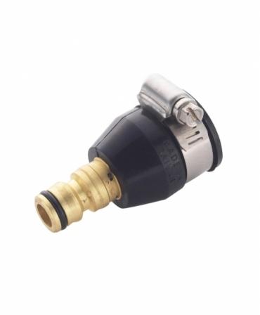 Conector rapid cu colier din alama/cauciuc, Spear & Jackson, produs