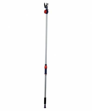 Foarfeca crengi tip bypass cu lama otel SK5, maner telescopic, unghi taiere reglabil, Spear & Jackson Razorsharp, produs
