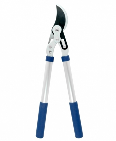 Foarfeca crengi tip bypass cu lama otel carbon cu teflon, maner aluminiu telescopic, Spear & Jackson Razorsharp Advance, produs