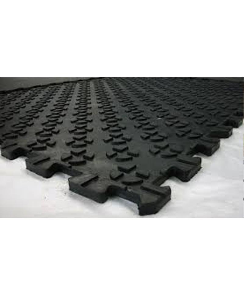 Covor de trafic din cauciuc, APOLLON PUZZLE, 1 x 1m, 17mm grosime
