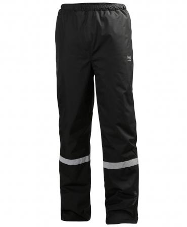 Pantaloni de lucru Helly Hansen Manchester Winter, negri, fata